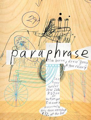 Paraphrase_poster